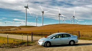 2006 Honda Civic Hybrid Windmills